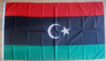 Libya Large Country Flag - 3' x 2'.
